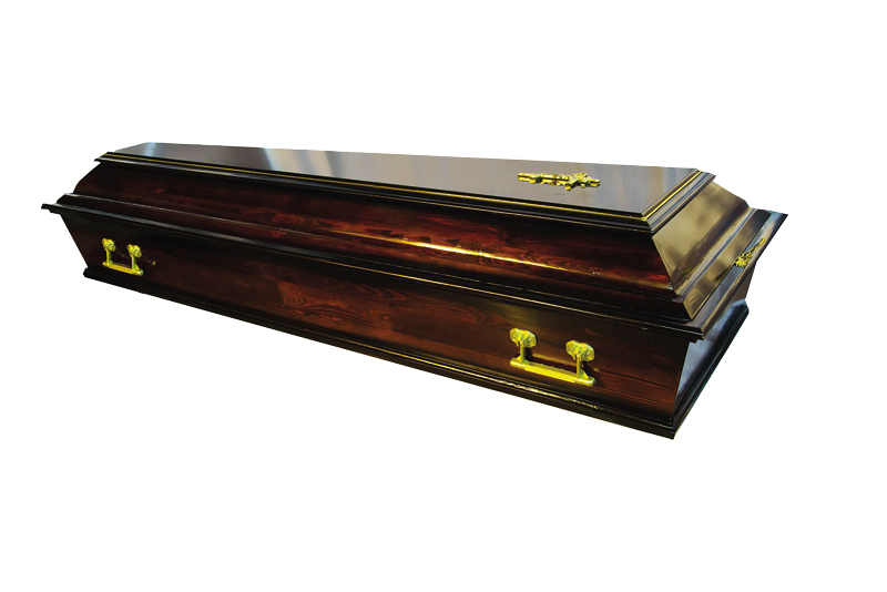 Гроб «Б4» темный