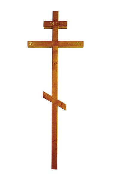 Крест «Сосна» темный