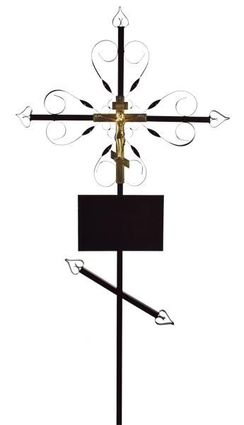 Крест «Завитушка»