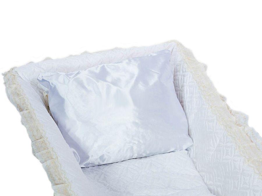 Подушка в гроб атлас