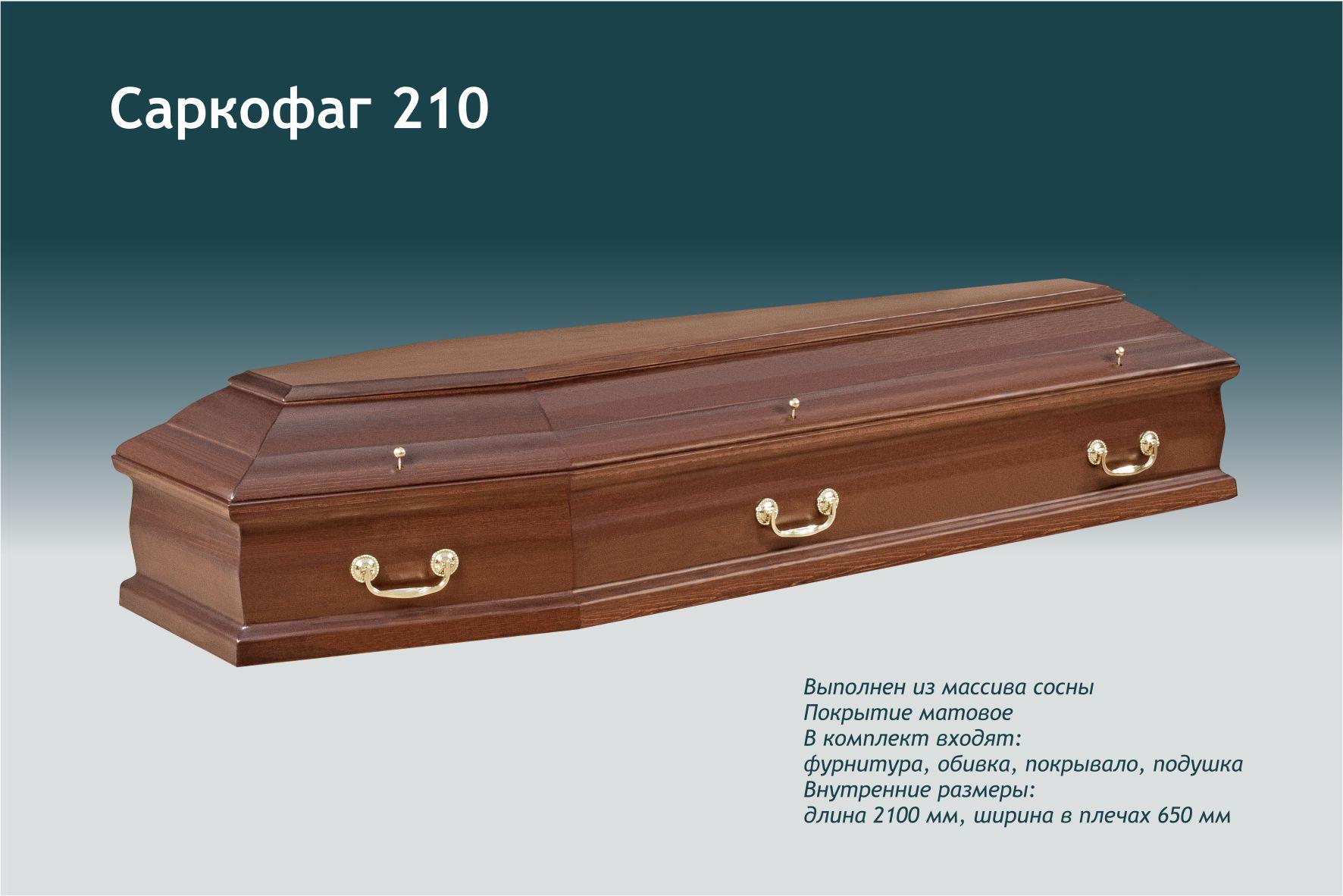 Саркофаг 210